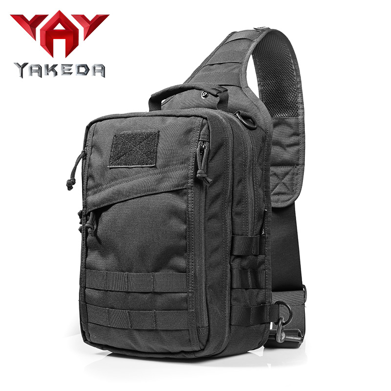 2018 New School Daily Use Camouflage Wholesale High Nylon Tactical Sling Bag Cross Body Gun Backpack Design Handgun Move Quickly Camping & Hiking