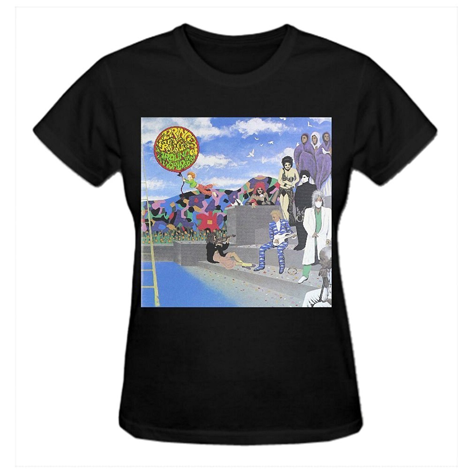 Design your own t-shirt for cheap price - Cheap Price For Premium Fitted Quality Tee Shirts Around The World In A Day Prince Women T Shirts O Neck Summer Design Your Own T Shirt Online Cheap Price