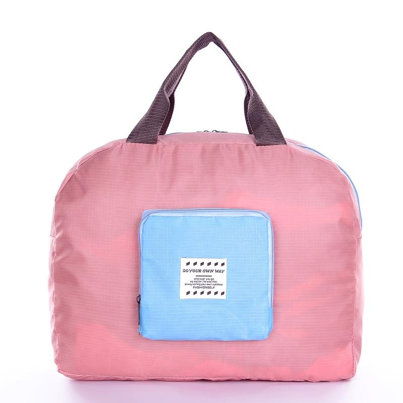 Foldable Gym Bag Women Small Lightweight Travel Duffel Waterproof Yoga Sport Packable Camping Hiking Pack