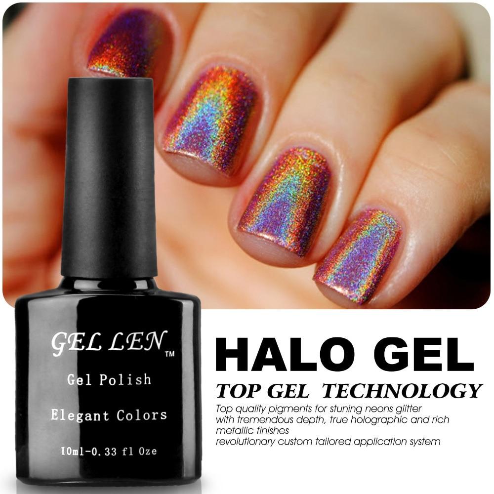 Glitter Nail Polish Buy: Aliexpress.com : Buy Gel Len New Arrival Halo Gel Polish