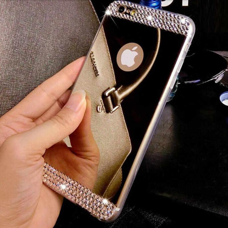 3D чехол со стразами для Samsung Galaxy A10 A30 A50 M10 M20 S10 S9 S8 Plus S10E S6 S7 Edge A6 A8 A7 A9 2018 J4 J6 J8 Plus
