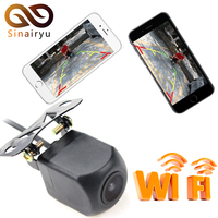 Sinairyu 10pcs Vehicle WIFI Reversing Camera Star Night Vision Car Rear View Camera Mini Body Tachograph for iPhone and Android