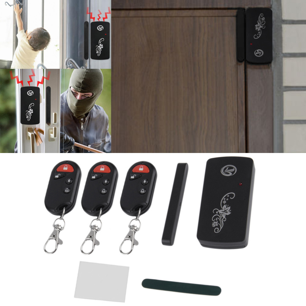 110db Volume Smart Magnetic Sensor Remote Control Wireless Door Window Voice Alarm Home House Entry Burglar Security System 433mhz wireless window door magnetic sensor detector door window motion burglar entry alarm home wireless security alarm system