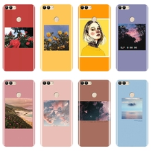 Soft Silicone Phone Case For Huawei P8 P9 P10 P20 Lite 2017