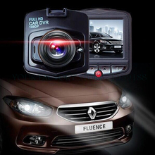 Full HD 1080P Car DVR GT300 Dual Lens Video Registrator Night Vision 170 Degree Wide Angle Black Box Dashcam
