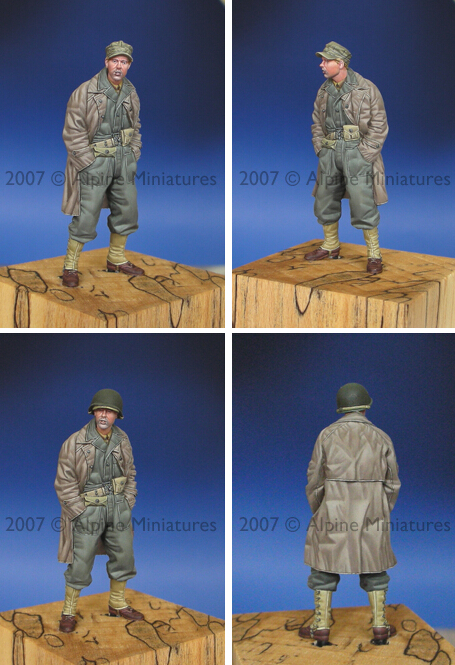 resin assembly Kits 1 35 WW2 US Tank Crew soldier in winter with overcoat Unpainted Kit
