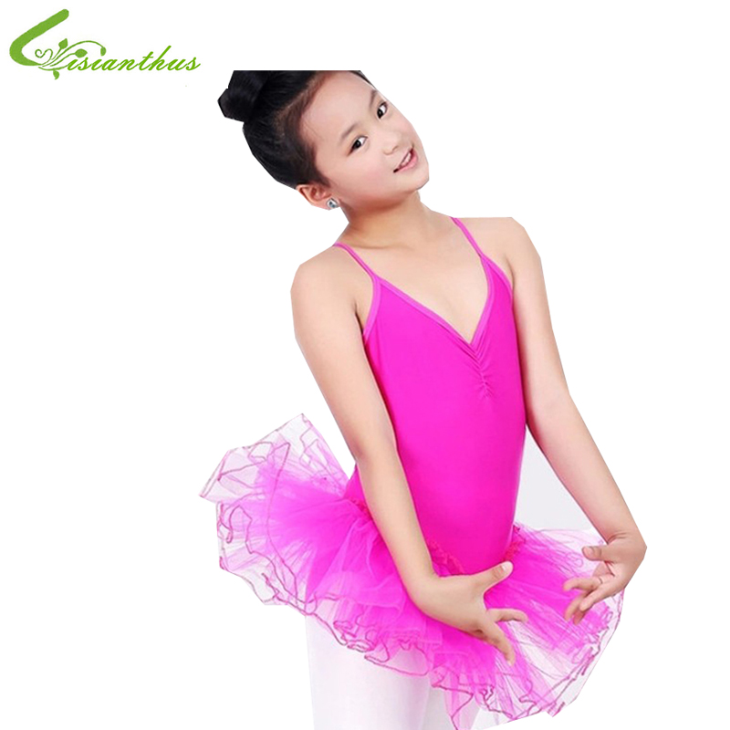 Princess Girls Swan Ballet Tutu Skate Dance dress Girls Strap Dancing show Clothes girls gauze Party dress girls' gift Free ship girls gymnastics ballet dance tutu show skating dancewear party skating dress 2 8y kids leotard dress princess for 3 14y
