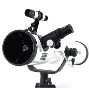 Visionking Reflector 76mm/700mm Astronomy Telescope Sky Observation Newtonian Star Moon Astronomical Monocular With Good Tripod