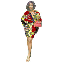 African Printed Fabric Sexy Dashiki Set Women Fashion Tops And Shorts Tailored Party Design Trendy Africa