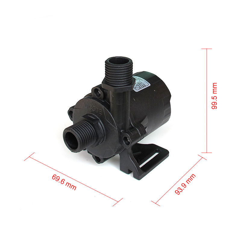 High pressure pump, 1560LPH 15M High Lift, 5-24V DC Submersible Small Water Pump,  brushless DC motor Driven, for Hot Water