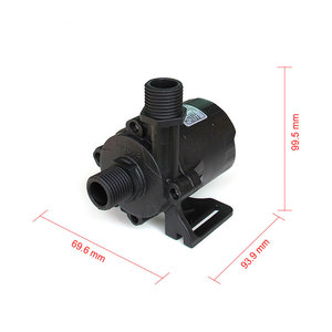 Image 2 - High pressure pump, 1560LPH 15M High Lift, 5 24V DC Submersible Small Water Pump,  brushless DC motor Driven, for Hot Water