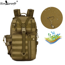 SINAIRSOFT Outdoor Tactical Backpack 900D Waterproof Army Shoulder Military hunting camping Multi-purpose Molle Sport Bag LY0057