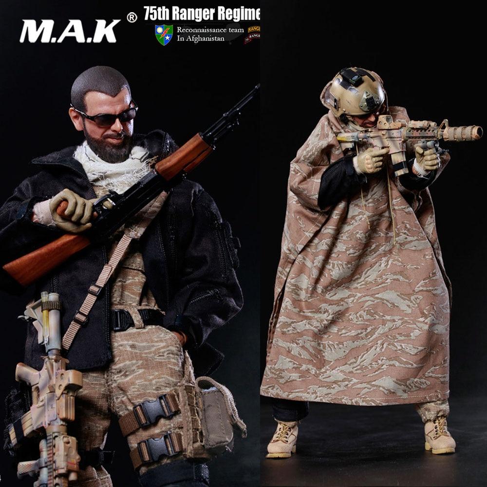 Figurine d'action de soldat à collectionner à l'échelle 1/6 75th équipe de Reconnaissance du régiment des rangers en Afghanistan modèle pour cadeau de Fans