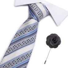 Men Ties luxury skinny ties Mens Fashion flower Neckties Gravata Jacquard Tie Business mans Wedding Animal dress Bowtie 7cm