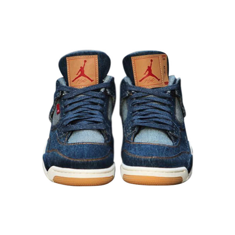 5db68fd1bb2 ... Nike Levi X Air Jordan 4 Men Basketball Shoes, Shock-absorbing  Breathable Non- ...