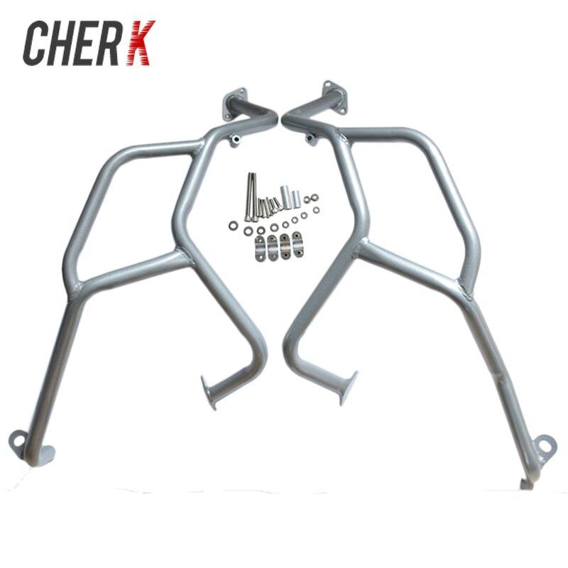 Cherk Ruban Moto Supérieure Garde Moteur Crash Bar Protecteur Pour BMW F800GS F700GS F650GS 2008-2017 16 15 14 13 12 11 10 09