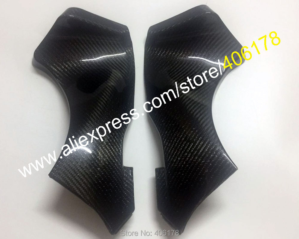 Hot Sales,2 x Carbon Fiber Intake Dash Panels Fairings For Kawasaki ninja ZX6R 2005 2006 ZX-6R Upper Front Dash Air Intake CoverHot Sales,2 x Carbon Fiber Intake Dash Panels Fairings For Kawasaki ninja ZX6R 2005 2006 ZX-6R Upper Front Dash Air Intake Cover