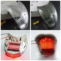 รถจักรยานยนต์LEDเปิดสัญญาณไฟท้ายไฟท้ายสำหรับรถBMW K1200S K1200R บน