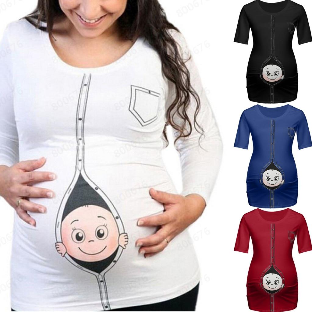 We are Hoping It/'s a Panda Pregnancy Maternity T-shirt Tee Shirt Maternity Tee