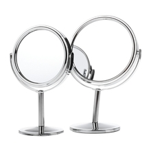 Beauty Makeup Cosmetic Mirror Double-Sided Normal 1x/3x Magnifying Stand Mirror