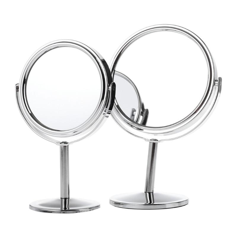 Haut Pflege Werkzeuge Schönheit Make-up Kosmetik Spiegel Doppelseitige Normalen 1x/3x Vergrößerungs Stand Spiegel