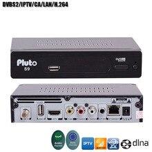 S9 Satellite Receiver Arabic IPTV Europe IPTV DVBS2 PowerVu Function CA/LAN Function Satellite TV Receiver