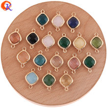 Cordial Design 50Pcs 13*19MM Jewelry Accessories/DIY Earring Making/Crystal Connectors/Charms Jewelry/Hand Made/Earring Findings
