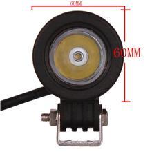 HEIßER Verkauf 10 Watt high power outdoor led mini kopf auto lampe für SUV, ATV off road, 12 V 24 V 10 watt led kopf licht