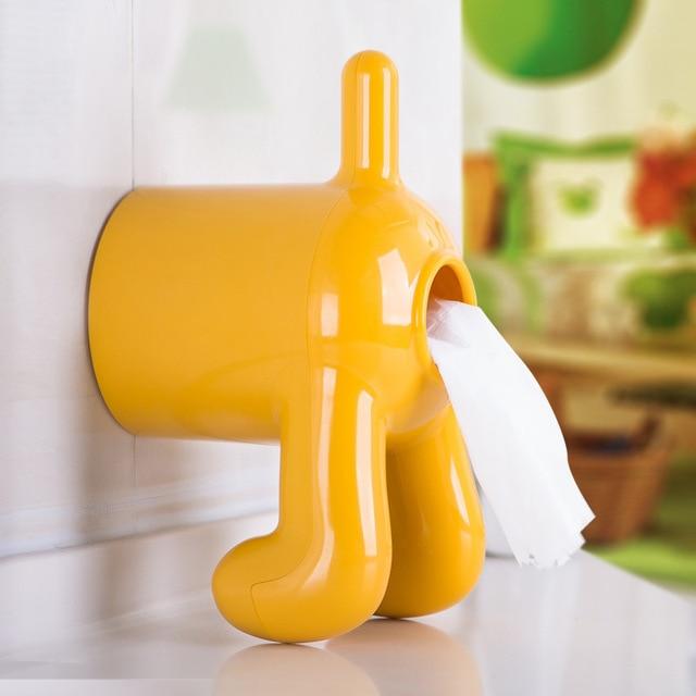 Dog Toilet Tissue Paper Holder Funny Dog But Toilet Paper Holder