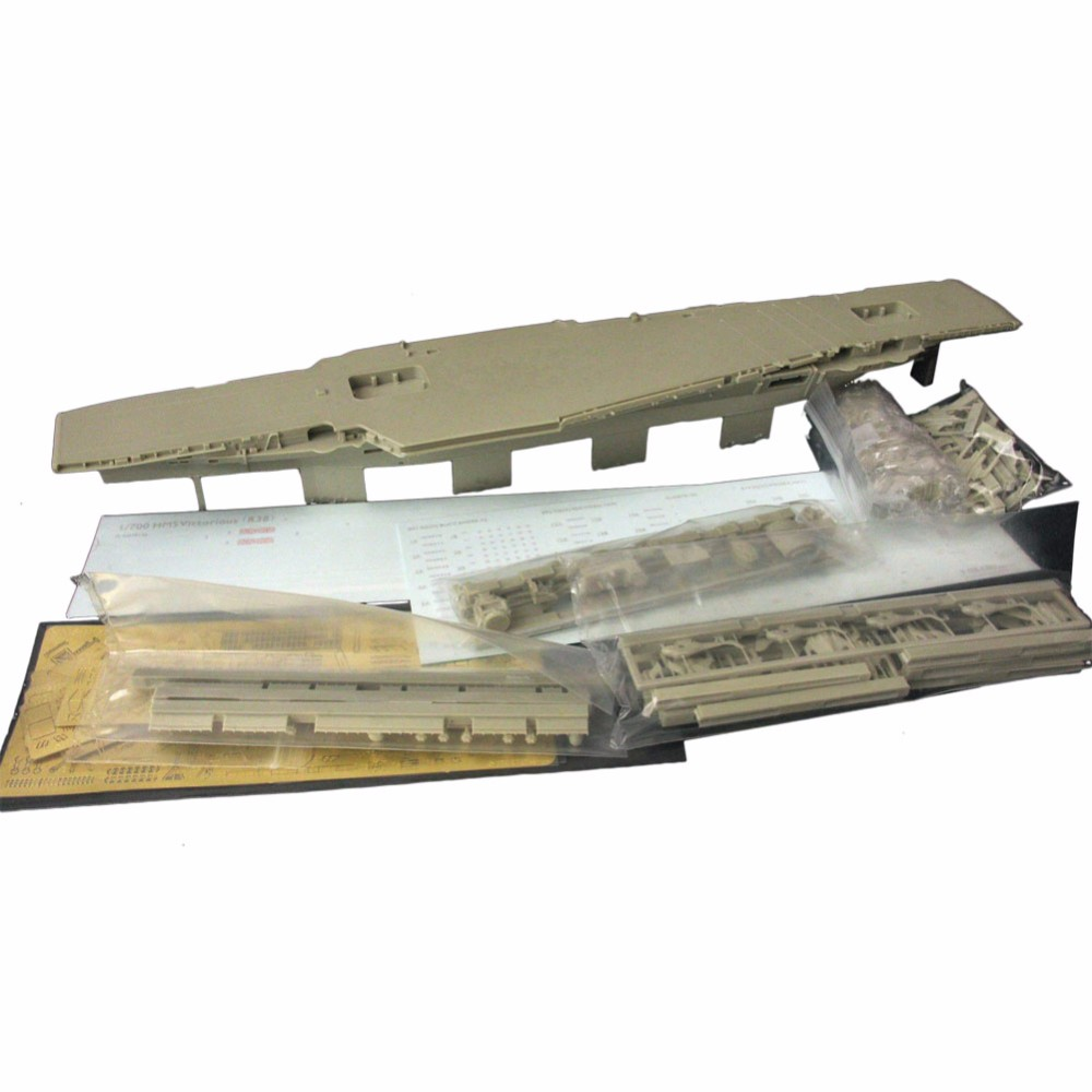 OHS Orange Hobby N07105980 1/700 HMS Victorious R38 Aircraft Carrier 1966 Assembly Scale Military Ship Model Building Kits oh