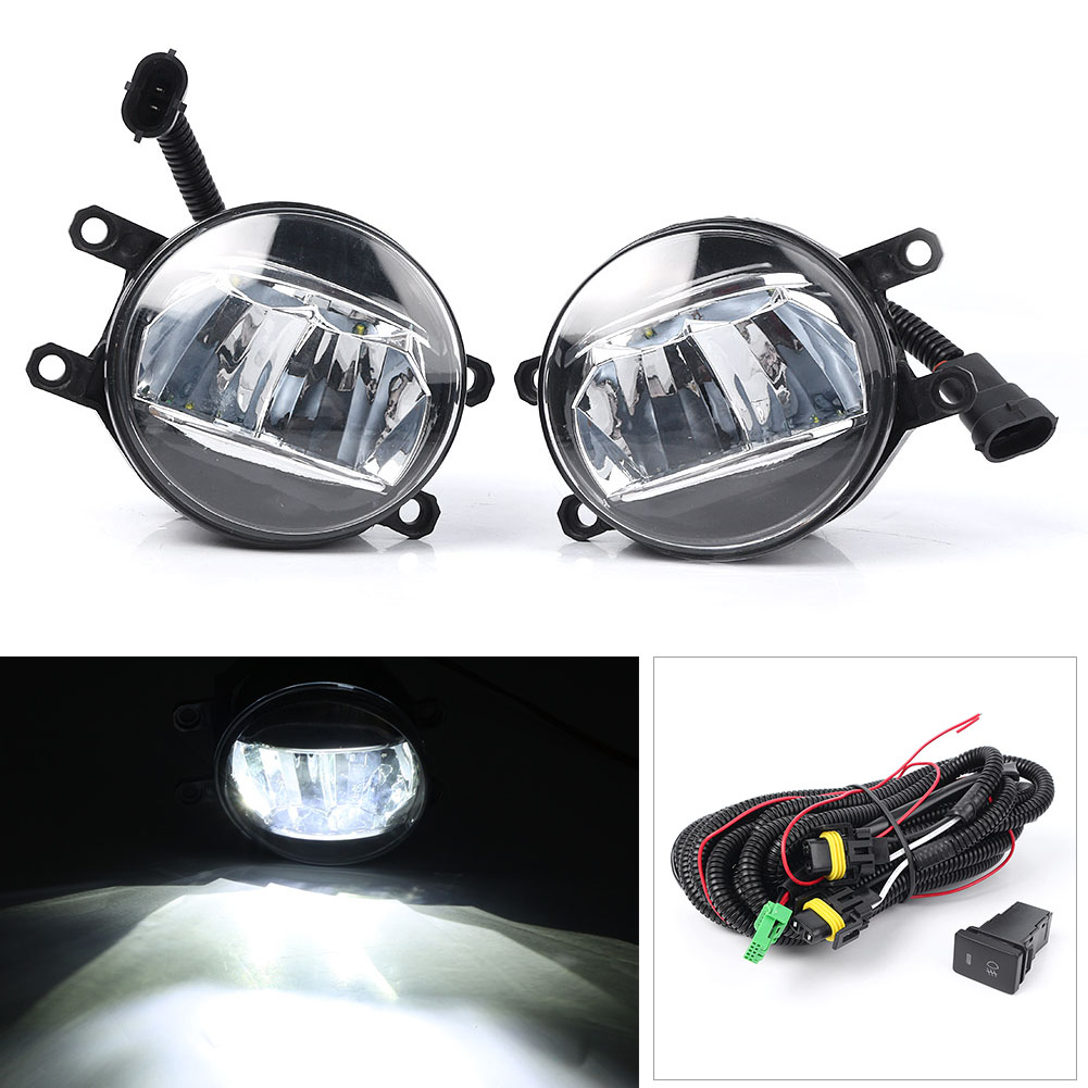 Auto Car LED H11 Driving Fog Light Fit for Toyota Camry Sport 2018 SE XSE L