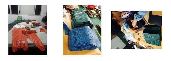 pele e bolsa, clipe de dinheiro de luxo para homens de negócios