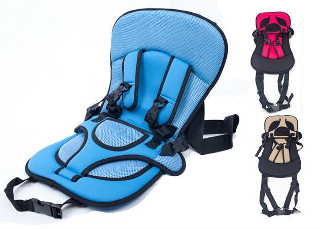 Novo Portátil Assentos de Carro Do Bebê Cadeira de segurança para Crianças criança assentos de segurança do carro capa de almofada auto para criança do bebê