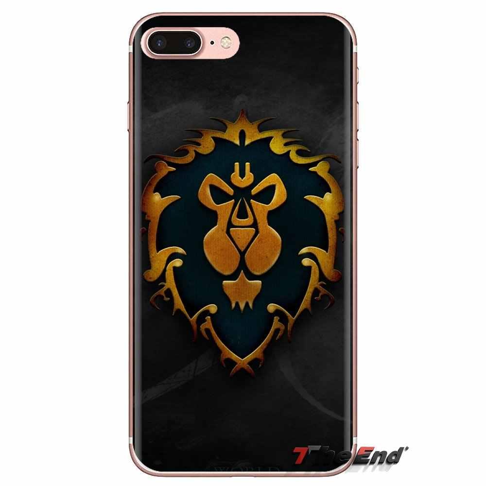Untuk Xiao Mi Mi 4 MI 5 MI 5 S MI 6 Mi A1 A2 5X6X8 9 Lite Se Pro Mi Max Mi X 2 3 2 S Game World Of Warcraft Alliance Silikon