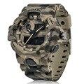 Новые камуфляжные военные часы SMAEL часы Для мужчин спортивные часы светодио дный кварцевые часы Для мужчин наручные Спорт 8001 Для мужчин s ар...