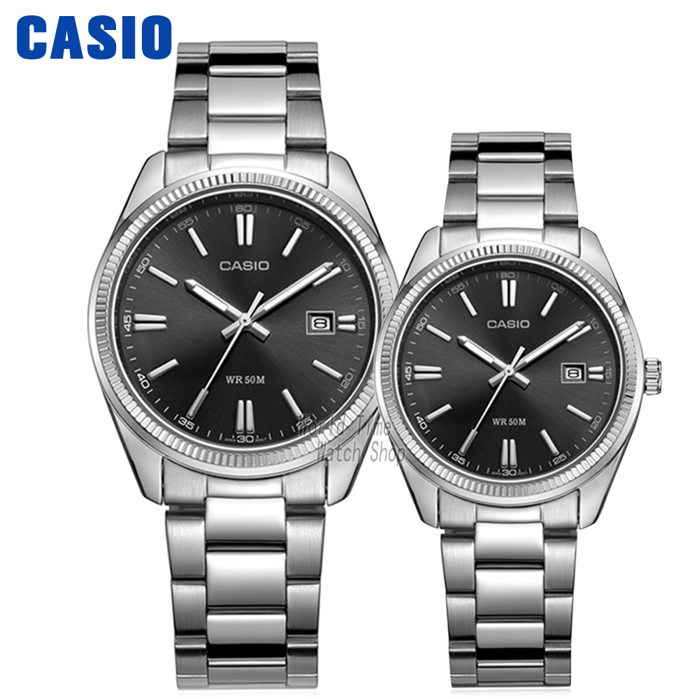 Casio watch Leisure and waterproof quartz couple table  MTP-1302D-1A1 LTP-1302D-1A1 MTP-1302L-1A LTP-1302L-1A MTP-1302L-7B casio watch fashion casual quartz needle steel watch ltp 1359rg 7a ltp 1359sg 7a