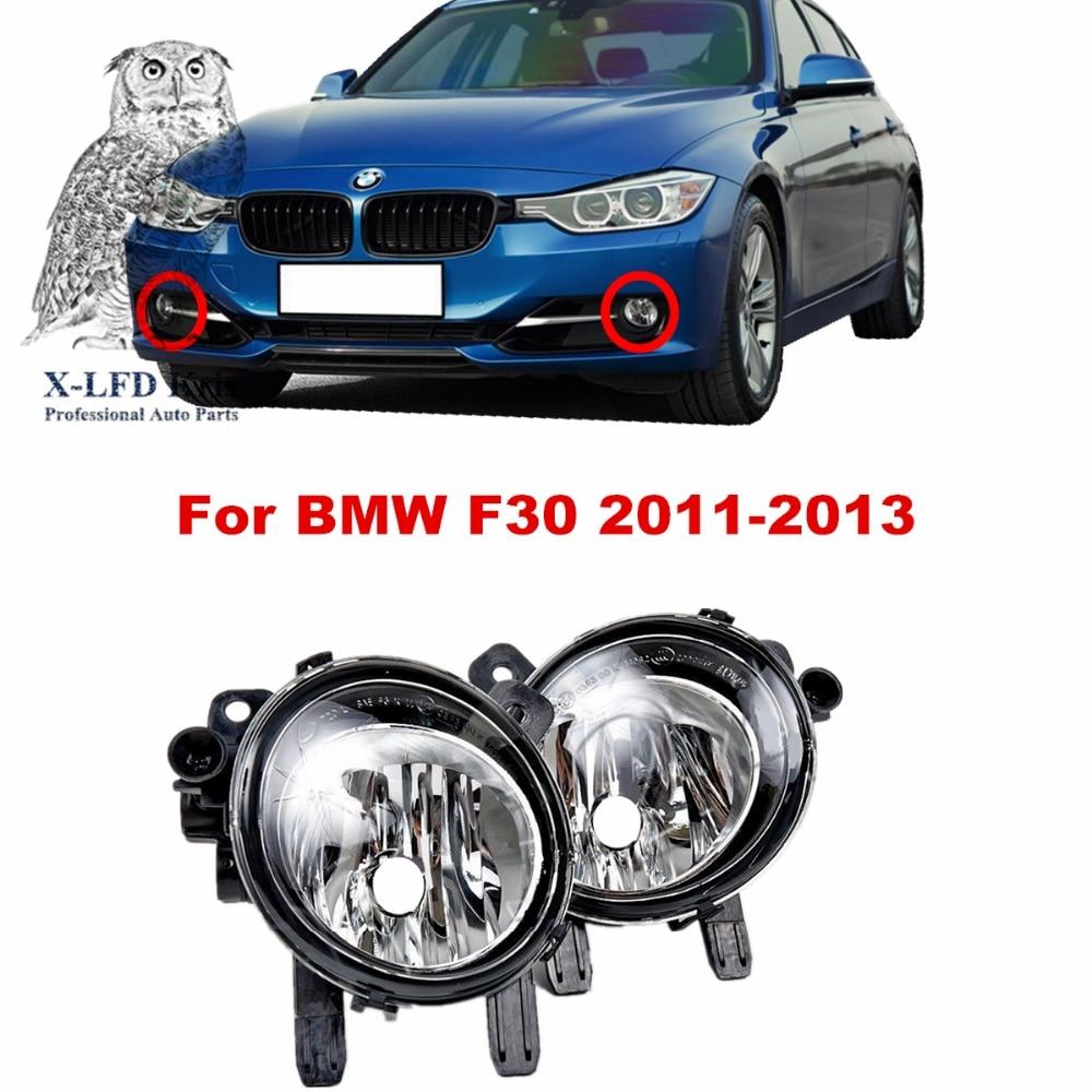 For BMW F30  2011-2013  car styling fog lights   1 SET FOG LAMPS for bmw e90 2007 08 09 10 11 car styling fog lights 1 set fog lamps