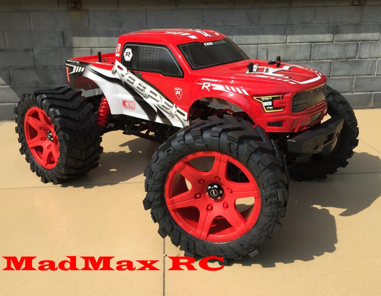 MADMAX GREAT WHEEL TIRE SETS+NEW EXTENDED HUB HEX FOR CEN RACING REEPER MONSTER madmax widened waterproof wheel tire set extedned adapter for cen racing cen reeper monster truck 1 7 scale rc car parts