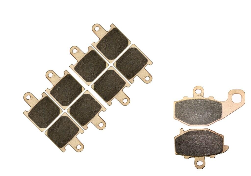 Brake Shoe Pads set fit for KAWASAKI ZX6R ZX 6R ZX600 ZX-6R 600 ZX600 P7F P8F 2007 2008 / ZX 600 R9F 2009 2010 2011 2012 f r brake pads set for malaguti 125 160 ie blog ie160 2010 2009 2011