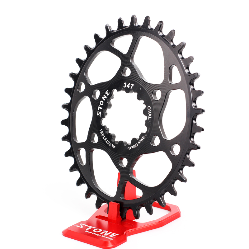 Stone MTB Bike Oval Single Chainring 3mm Offset Direct Mount For BOOST 148mm GXP Eagle DUB XX1 XO1 Bicycle ChainwheelStone MTB Bike Oval Single Chainring 3mm Offset Direct Mount For BOOST 148mm GXP Eagle DUB XX1 XO1 Bicycle Chainwheel