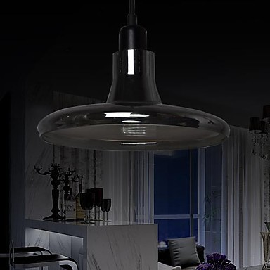 Black Glass Shade Hanging LED Pendant Lights Lamps For Home Modern Living Room, Lustres De Sala Cristal Foscarini fumat stained glass pendant lamps european style baroque lights for living room bedroom creative art shade led pendant lamp