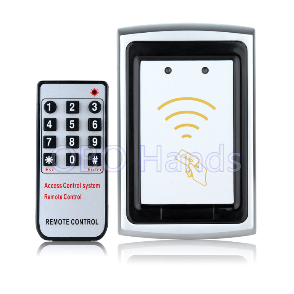 Free Shipping K75 metal access control keypad waterproof door access control system rfid card reader with remoter control f3 finger pin free shipping fingerprint access control reader with keypad waterproof structure design ip65 waterproof