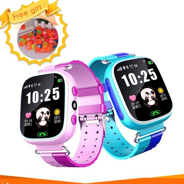 Baby Smart Watch Wristwatch Camera Touch Screen SOS Call GPS Locator Tracker Anti-Lost Waterproof Flashlight GPS Smart Watches