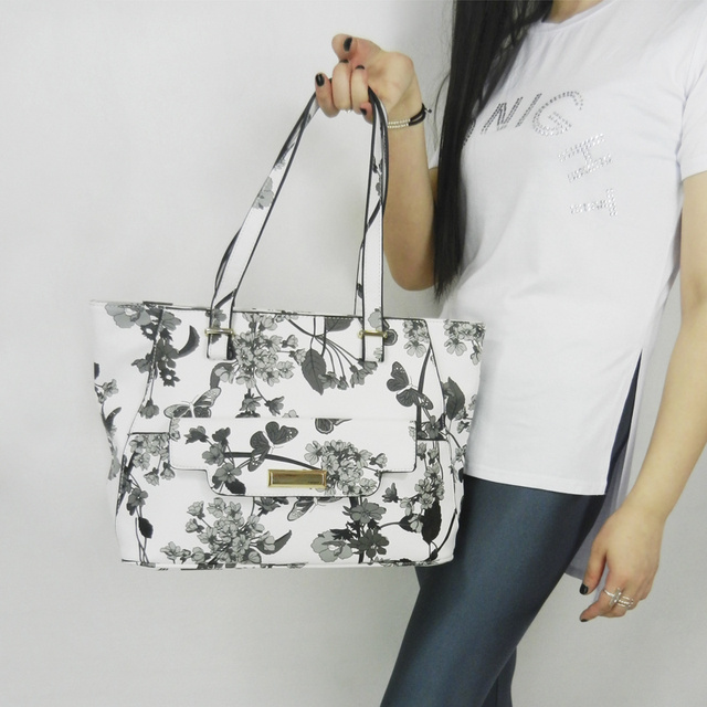 flower print shoulder Hobo Bag d1ab3cf9cc9d3