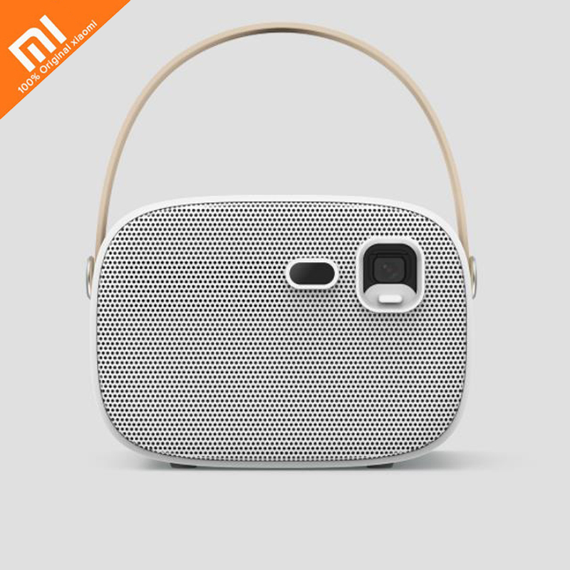 Xiaomi Mijia S5 projection intelligente 2.4G/5 GHZ double combat wifi Bluetooth 4.0 batterie intégrée portable projecteur de voyage chaud