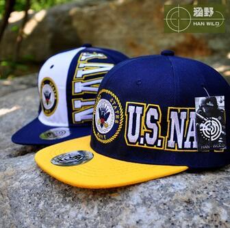 United States Navy Eagle And Anchor Sign Baseball Cap Cotton Outdoor Flat Adjustable Snapback Gorras Hip Hop Men Women Sun Hat
