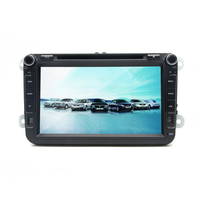 Android 6 0 Two Din 8 Inch Car DVD Player For New VW Volkswagen POLO PASSAT