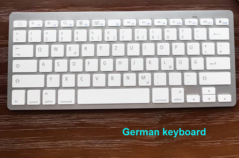 German Keyboard 800