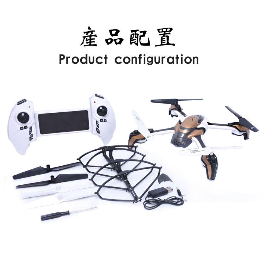 Kai Deng K80 With 2MP WIFI Camera Headless Mode RC Quadcopter RTF Remote Controls Remote Quadcopter REMOTE CONTRO