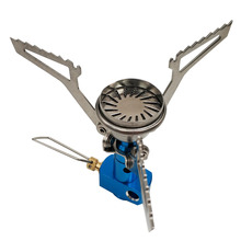 Earth Star Outdoor Camping Stove Small Portable High Pressure Burner Foldable Stainless steel Mini Camping-Stove